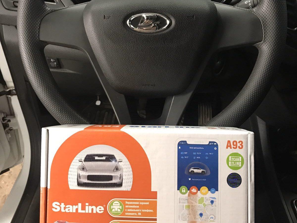 Starline A93 на Лада Веста