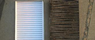 Салонные фильтры Калины