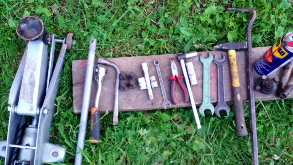 Инструменты для замены рулевых наконечников