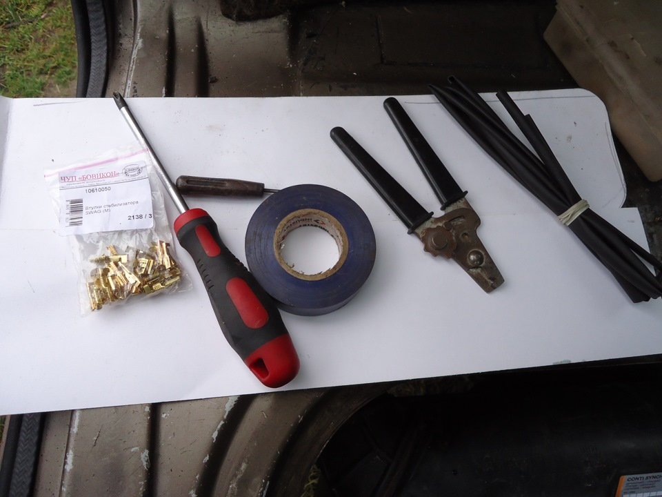 Инструменты для противотуманок