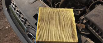 Воздушный фильтр Калина
