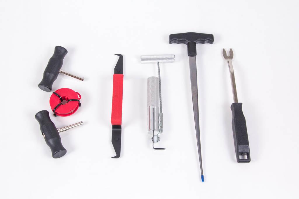 Инструменты для замены стекол автомобиля
